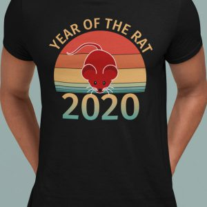 year of the rat 2020 t-shirt
