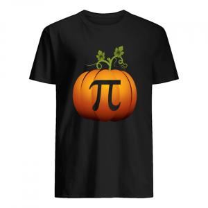 math teacher halloween pumpkin pi tshirt